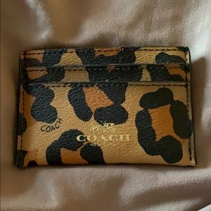 Coach credit card case